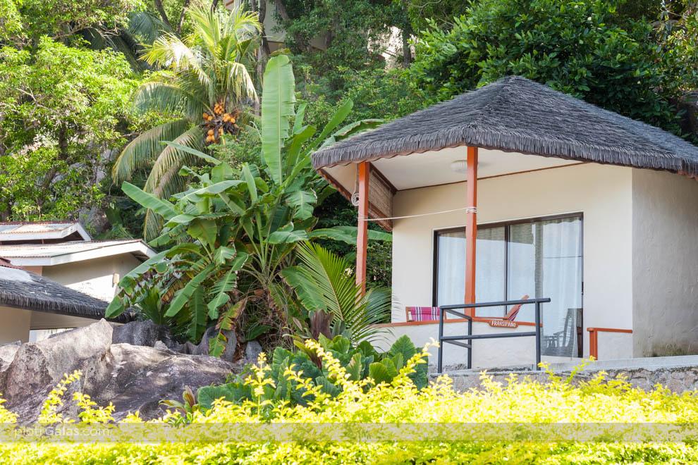 Domek będący częścią hotelu Patatran Village
