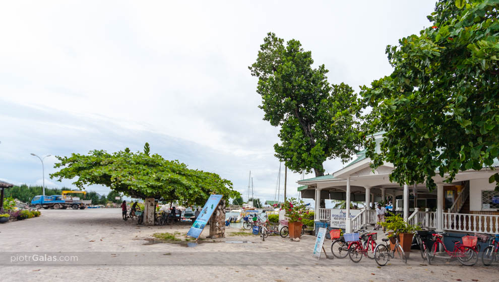 Kapitanat portu na wyspie La Digue