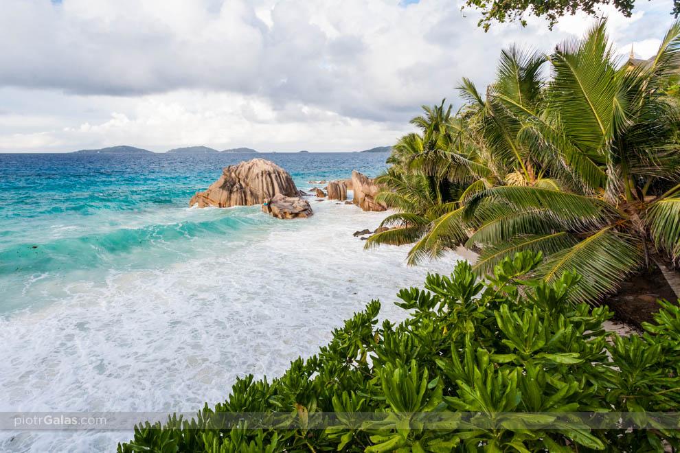 Plaża Anse Patetes przy hotelu Patatran