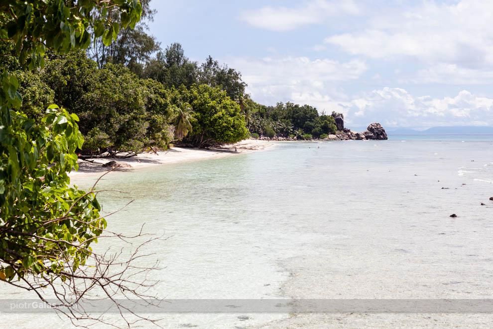 Plaża Anse Severe z widokiem na Pointe Cap Barbi