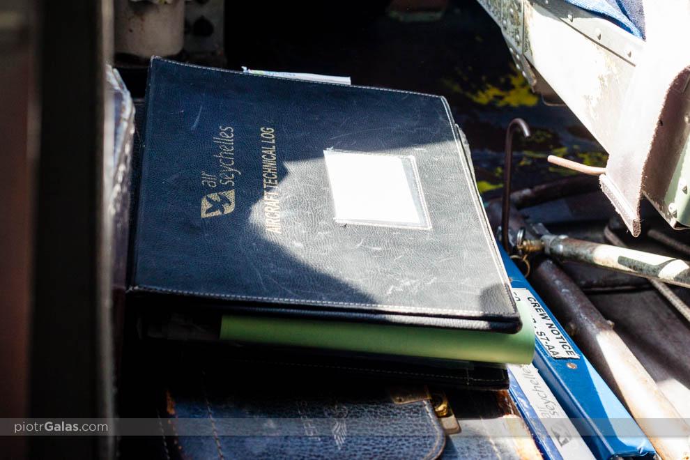 Książka samolotu