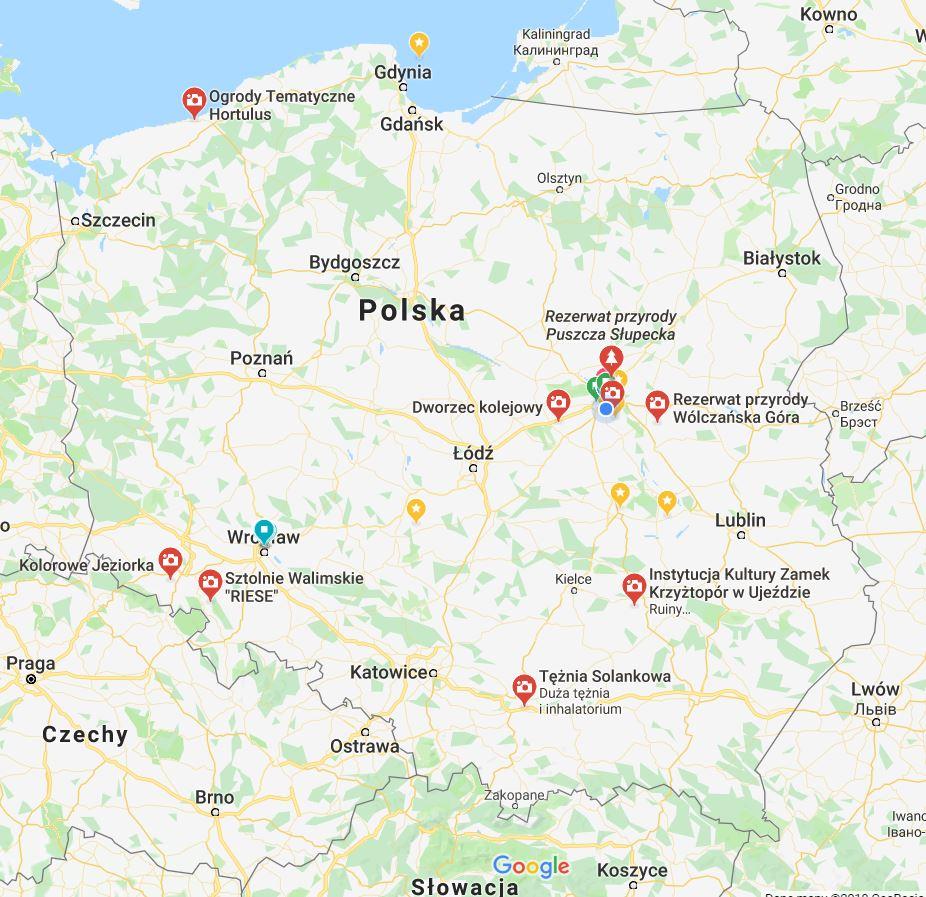 Polska - atrakcje turystyczne